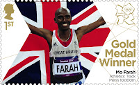 Mo Farah. Olympic 10,000m champion. Olympic 5,000m Champion.
