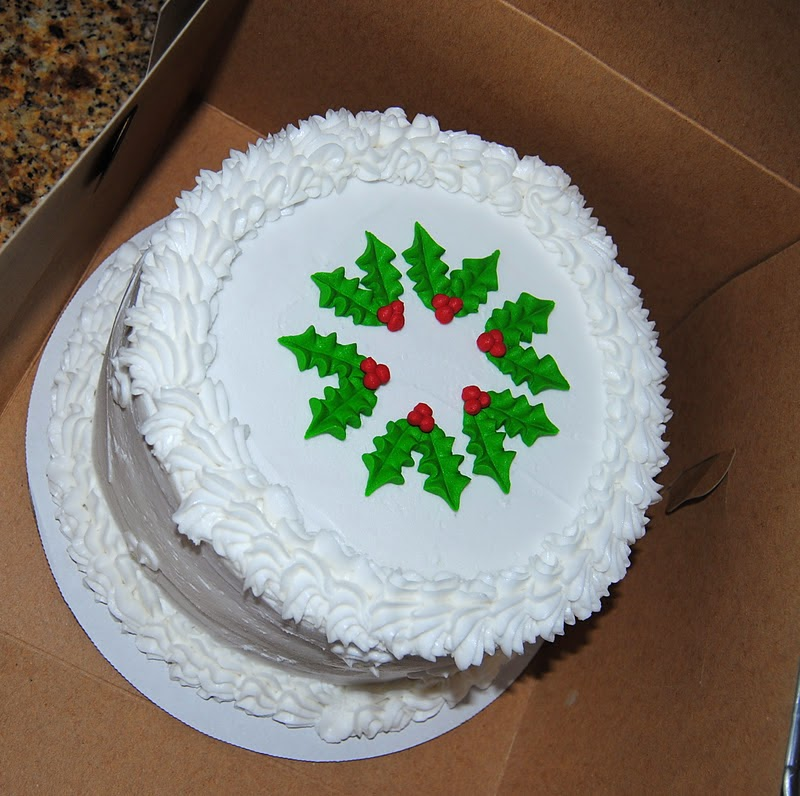 Christmas Cake Decorating With Buttercream : baked by ash