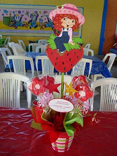 Children Parties, Strawberry Decorations, Centerpieces