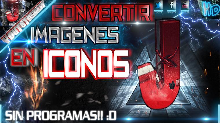 COMO CONVERTIR IMAGENES EN ICONOS SIN PROGRAMAS FACIL Y RAPIDO | 2015