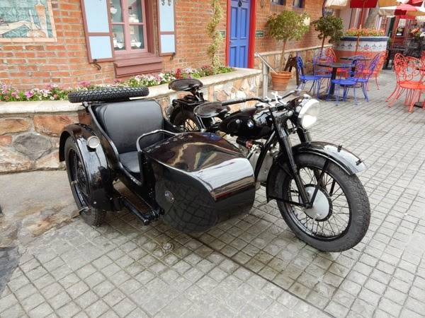 Inglourious Basterds movie motorbike sidecar