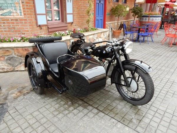 Inglourious Basterds movie motorbike sidecar