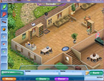 Virtual families game free download free full version for Virtual families 2 decoration