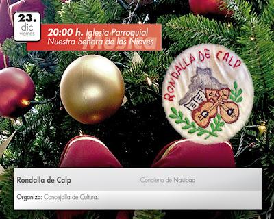 Rondalla+de+Calpe Concierto de Navidad / Weihnachtskonzert   La Rondalla, 23.Diciembre