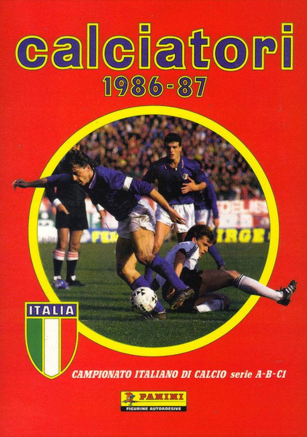 NEW-Figurina CALCIATORI PANINI 1986//87-n.414-MAGNOCAVALLO#MARINO-LAZIO-NEW