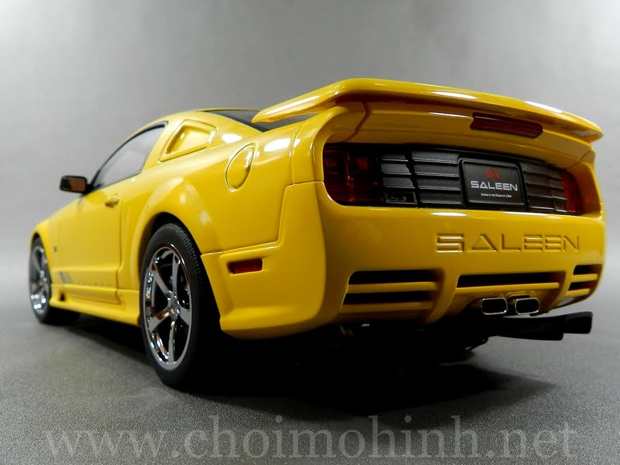Ford Saleen Mustang S281 1:18 AUTOart back