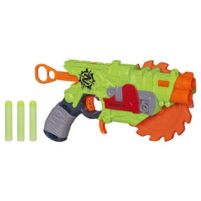 TOYS : JUGUETES - Nerf : Zombie Strike  Crosscut | Pistola - Blaster  Producto Oficial 2015 | Hasbro B3211 | A partir de 8 años  Comprar en Amazon España & buy Amazon USA