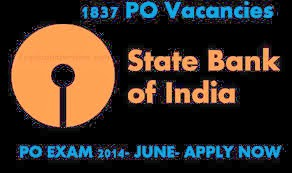 SBI PO Recruitment 2014.