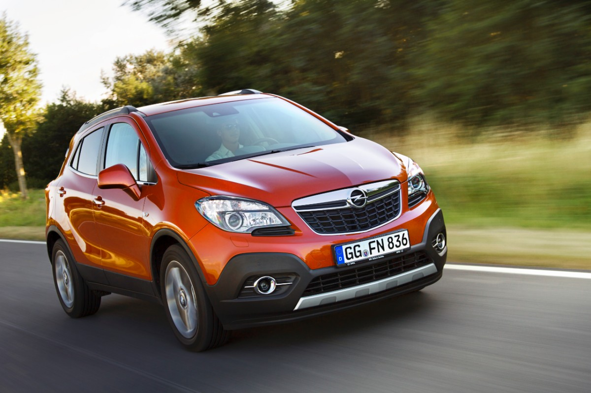 riwal888 blog new 100 000 opel mokka suv already ordered now even more variety. Black Bedroom Furniture Sets. Home Design Ideas
