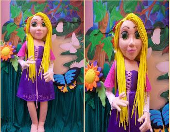 títere-muñeca Rapunzel