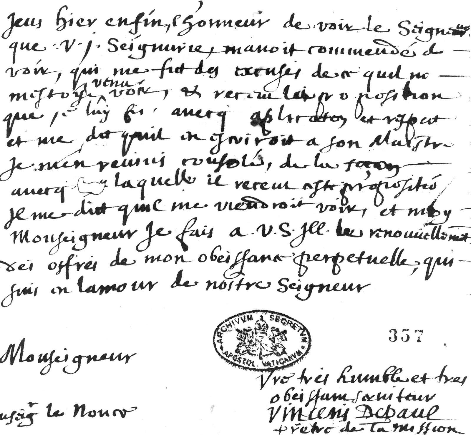 Carta San Vicente