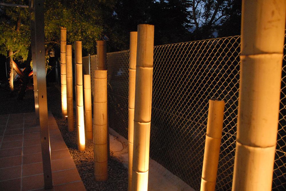 Arte y jardiner a dise o de jardines con bamb s - Bambu para jardin ...