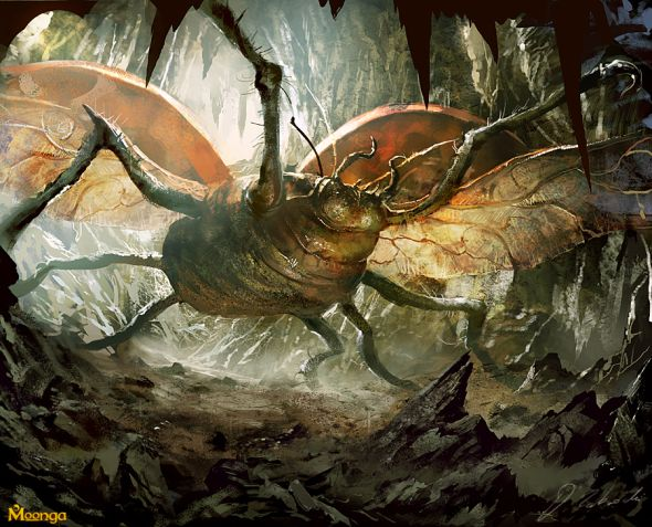 Darek Zabrocki daroz deviantart illustrations concept art fantasy games Giant ladybug