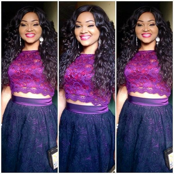 Mercy Aigbe's Outfit to Miss Global Nigeria