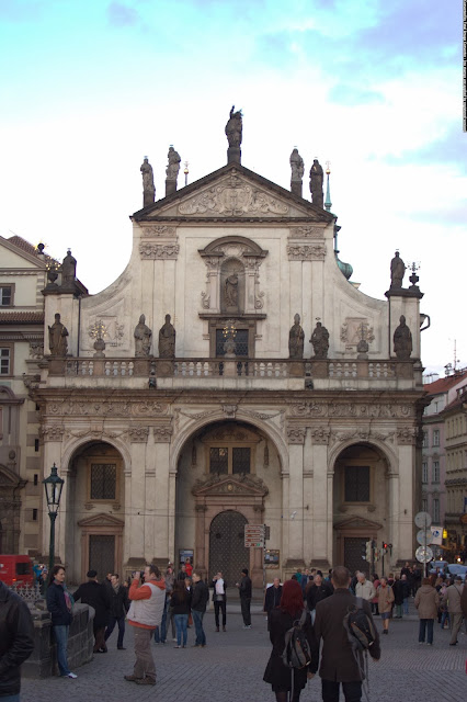 Костел святого Сальватора, Прага, Чехия. Prague, Czech republic