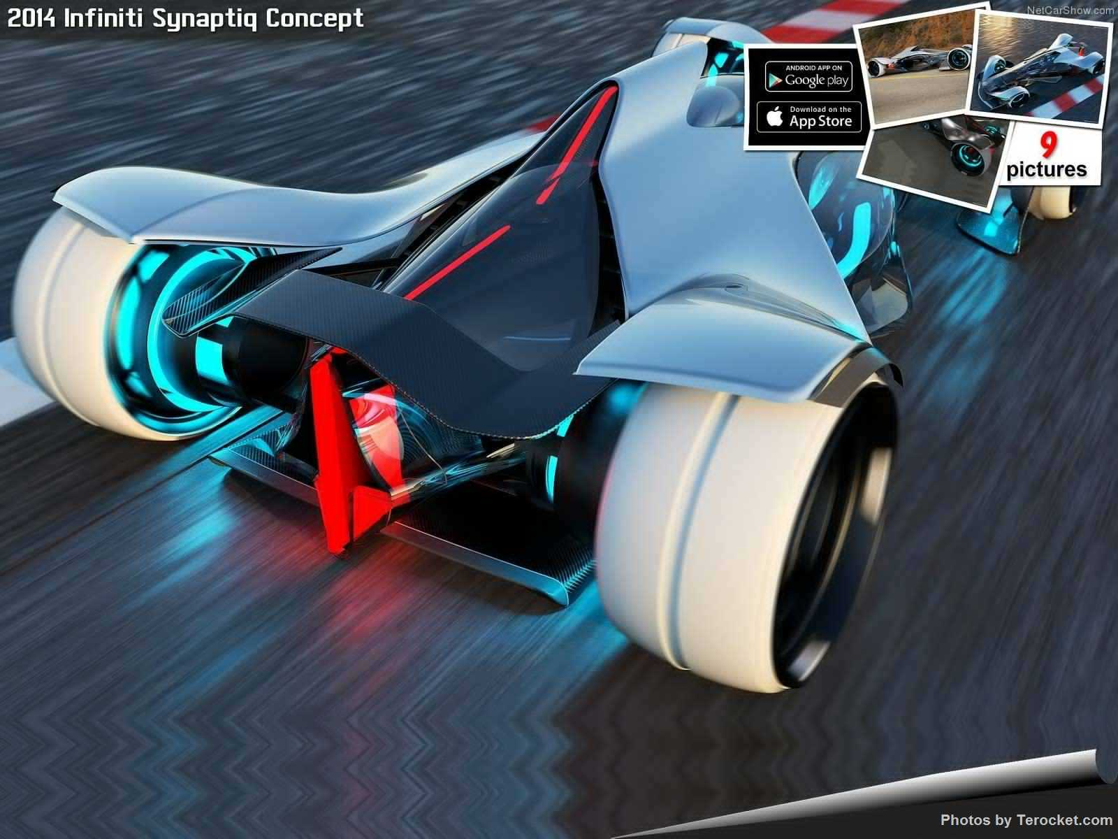 Hình ảnh xe ô tô Infiniti Synaptiq Concept 2014 & nội ngoại thất
