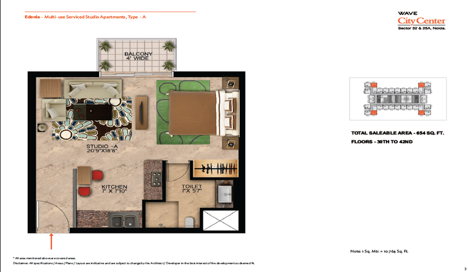 Wave Edenia Floor Plans 8