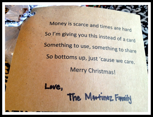 Marci Coombs: Cute Toilet Paper Christmas Gift idea.
