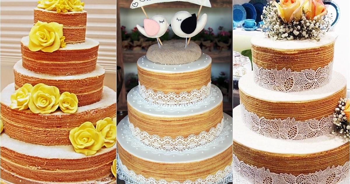 Nova tendência: Naked Cake Bolo de rolo - Amando Cozinhar ...