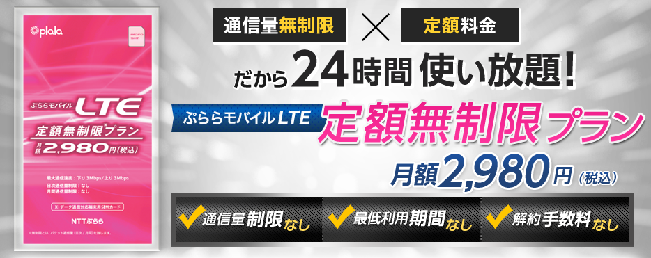 NTTぷらら 定額無制限プラン
