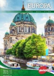 Aviotel Catálogo de viajes Europa 2015-2016