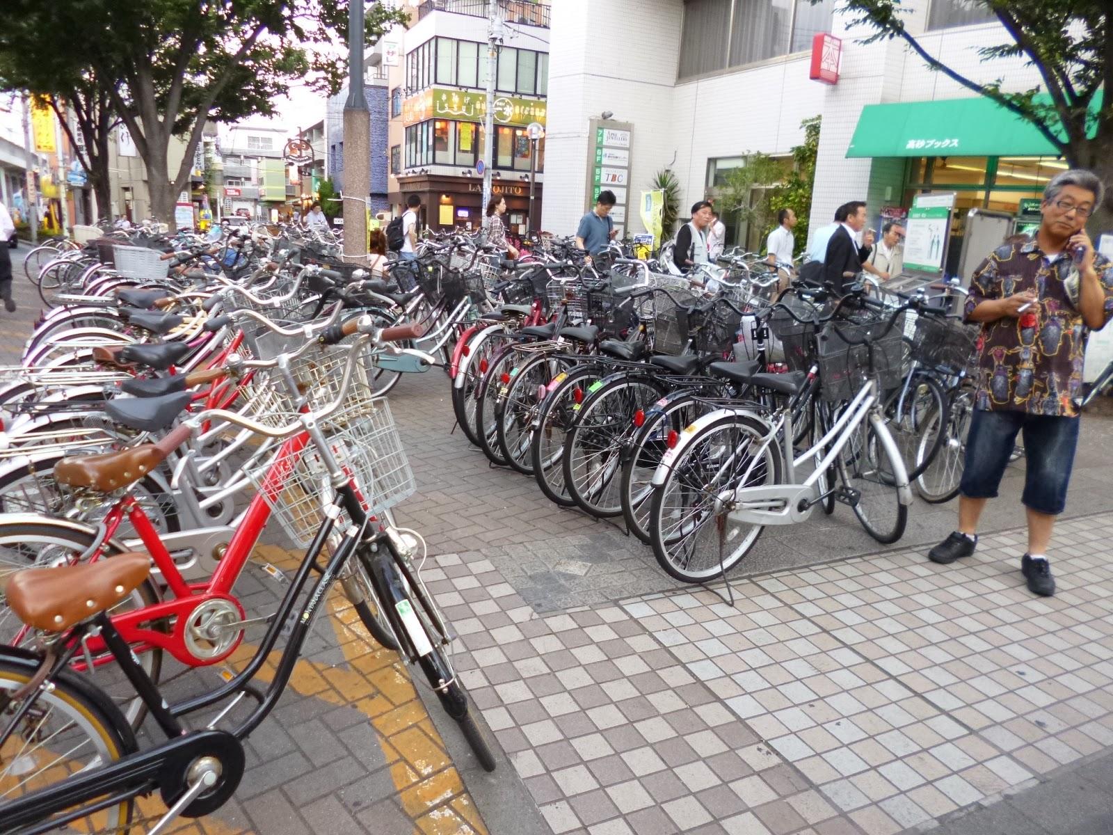 es el medio de transporte que emplean muchos japoneses para moverse