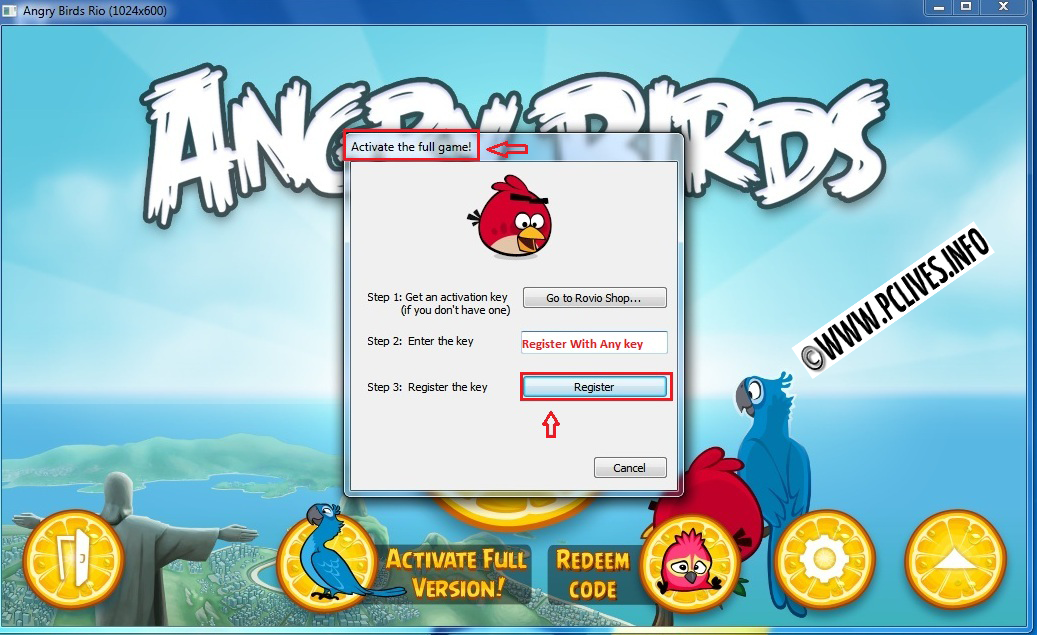 Angry birds pc crack key