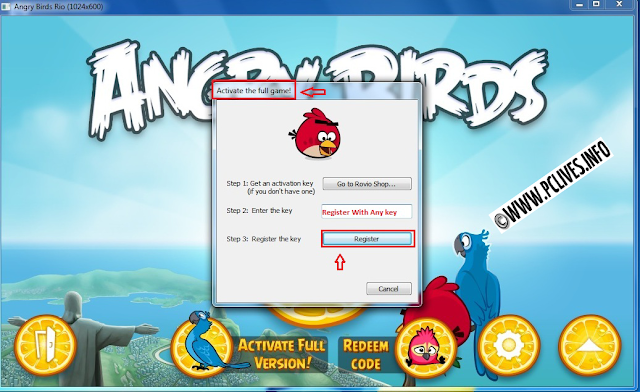 full and free pc game Angry Birds Space serials install
