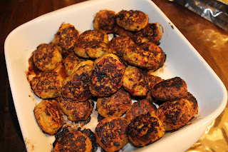 Opskrift kyllingefrikadeller med feta