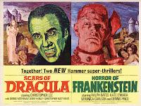 Scars Of Dracula / Horror Of Frankenstein poster