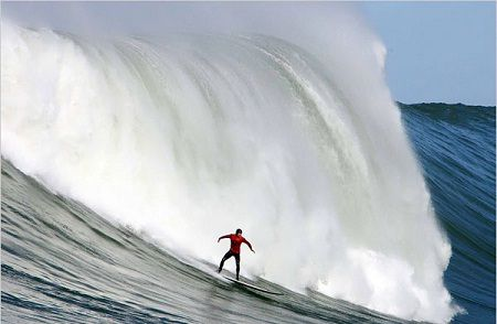 Dangers of big wave surfing