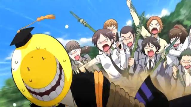 Visual Baru Untuk Anime Musim Kedua 'Ansatsu Kyoshitsu' Diperlihatkan