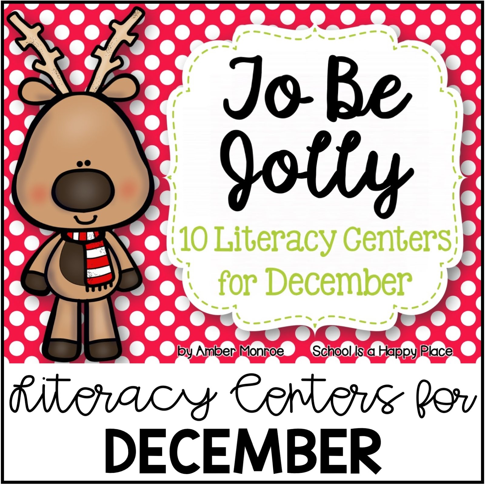 Literacy Centers for December