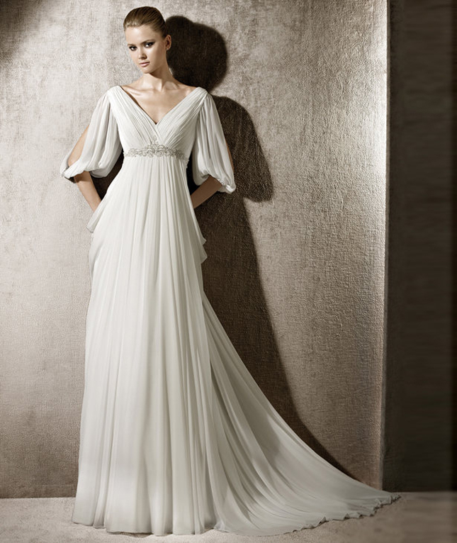 Dress of The Week   Winter Wedding Dresses - Belle The Magazine