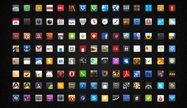 смотрел Комплекты фон иконок на андроиде всем