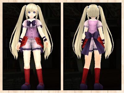 ハロウィンの衣 桃1+赤2