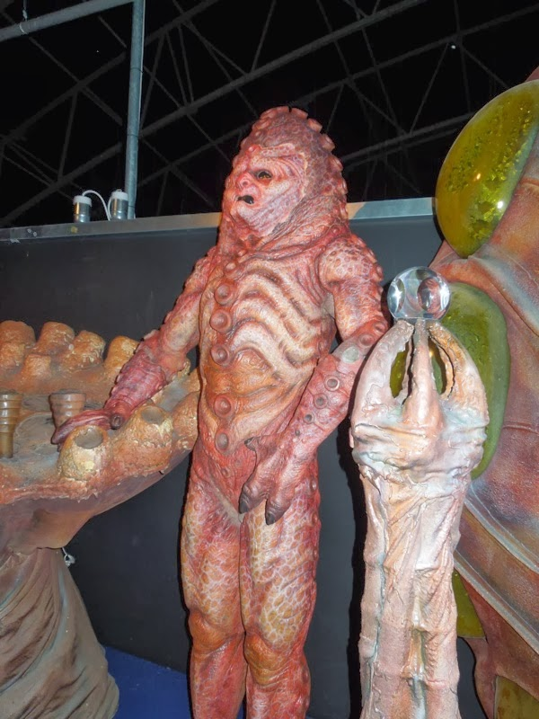Zygon costume props Doctor Who