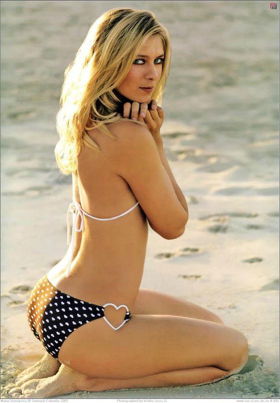 Ela tem o sol nas mãos...: Hot and Sexy Maria Sharapova (2012 French ...