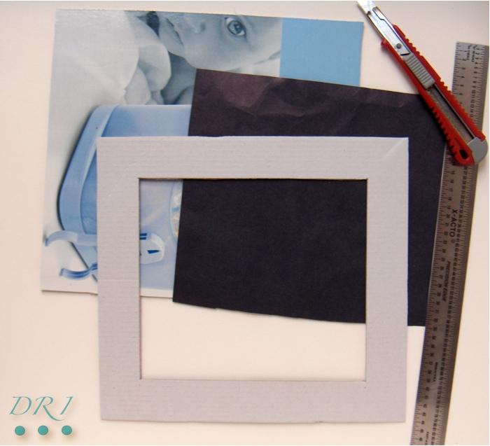 Decora Recicla Imagina …: Hacer una pizarra con bolsas de papel.