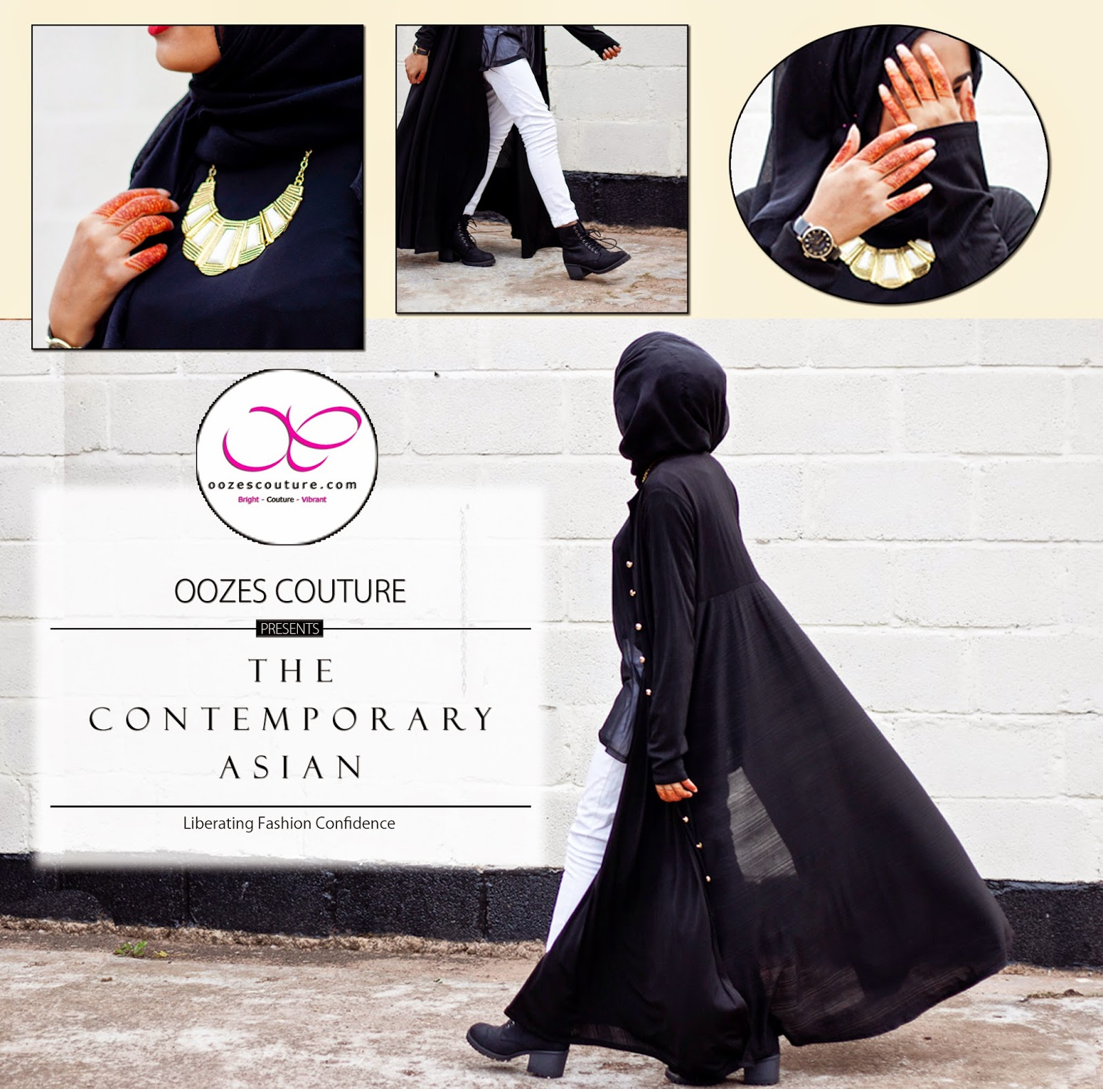 Flowy Abaya Oozes Couture