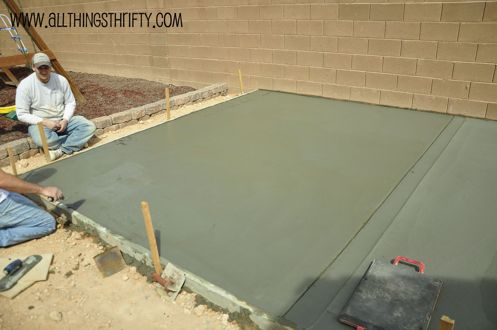 Concrete Patio Project Backyard Landscaping Update. Pinterest Outdoor Patio Decorating Ideas. Laying Patio Pavers In Rain. Patio Restaurant On Broadway. Restaurant Patio Plastic Enclosures. Kingston Outdoor Patio Deep Seating Set 6 Pc. Build A Patio Table. How To Build Interlock Patio. Small Patio Designs Pictures