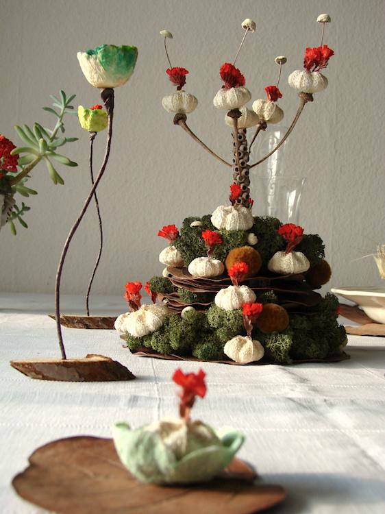 segnaposto per la tavola di Natale ad Abilmente Roma 2014
