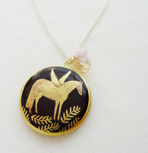 the bonbi forest shop is filled with delightful jewellery cute cards and stunning original artworks recently these lockets have appeared in the bonbi