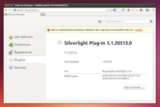 Silverlight Firefox Linux