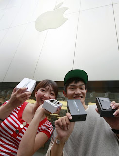 People with iPhone 5,Happy with new iPhone 5