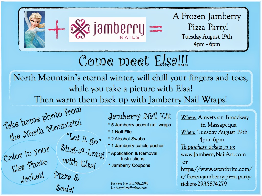 Frozen - Jamberry Mommy & Me Party!