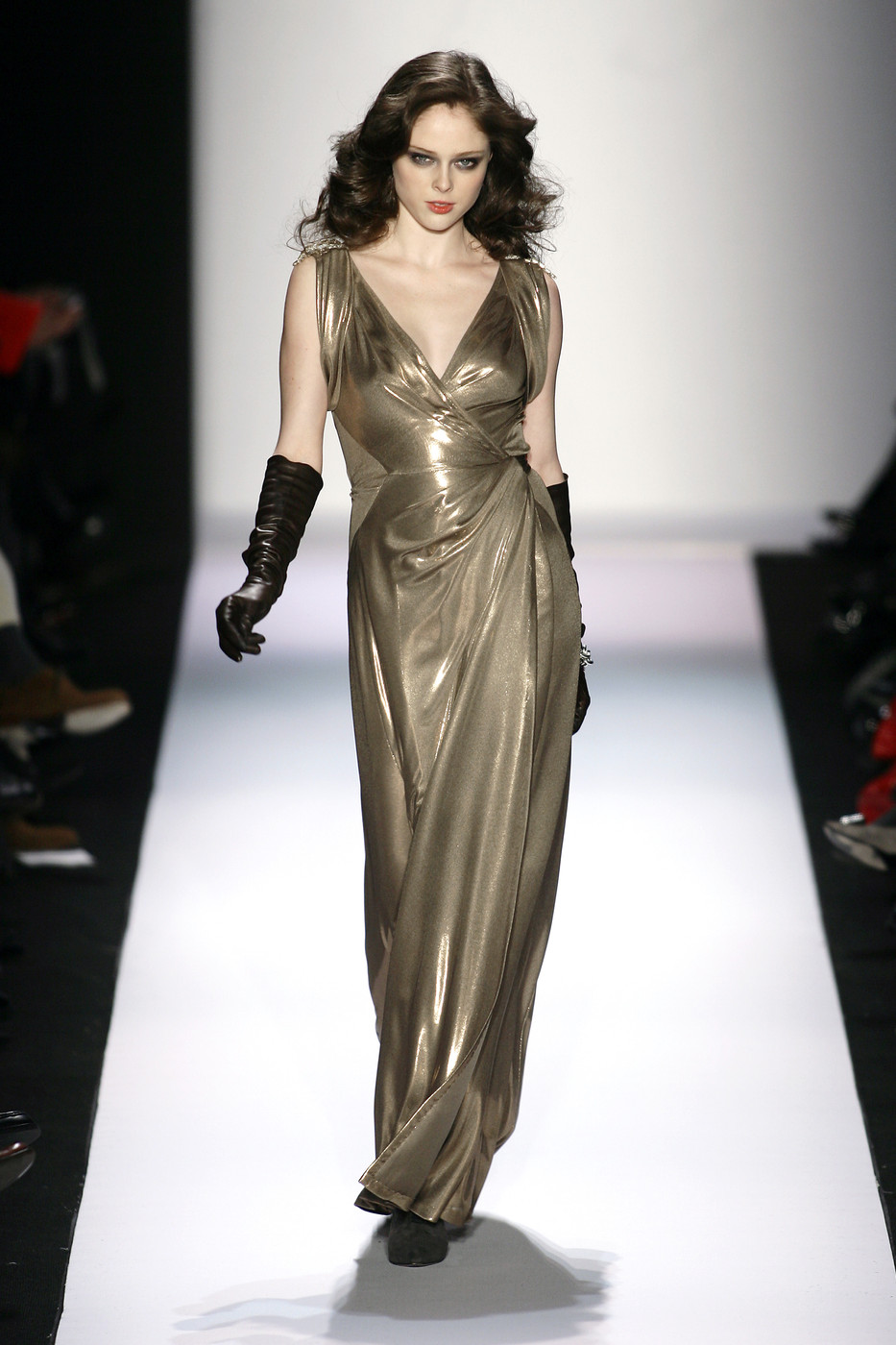 via fashioned by love | Diane von Furstenberg wrap-dress Fall/Winter 2008