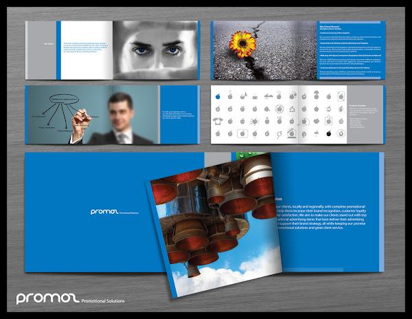 Contoh Desain Company Profile
