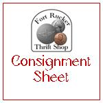Consignment Sheet