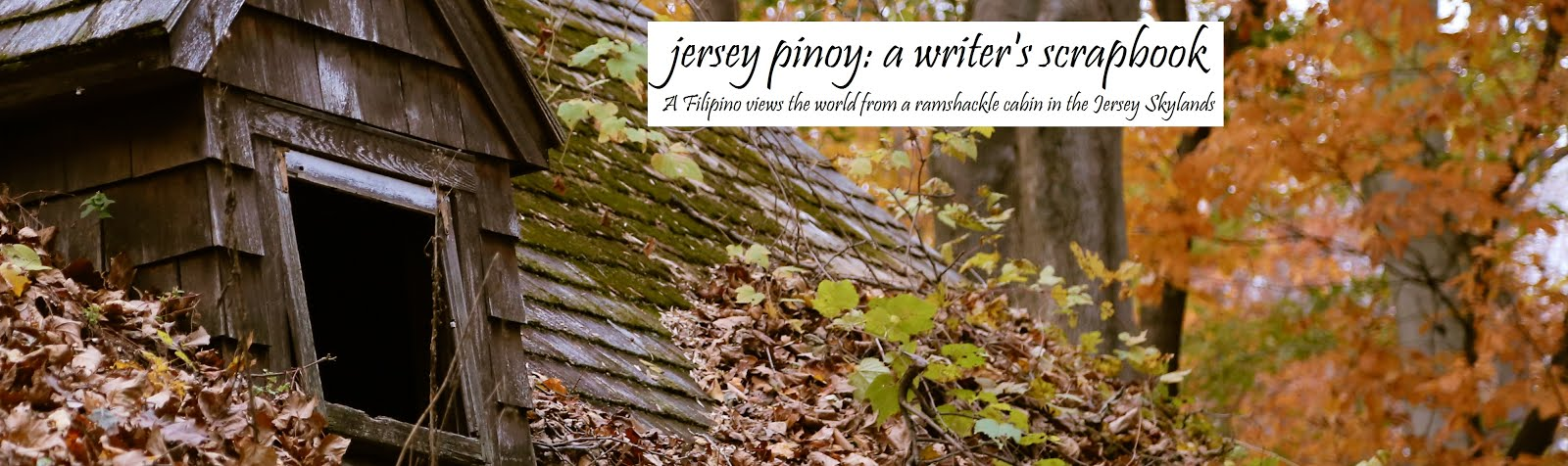 JERSEY PINOY: A WRITER'S SCRAPBOOK